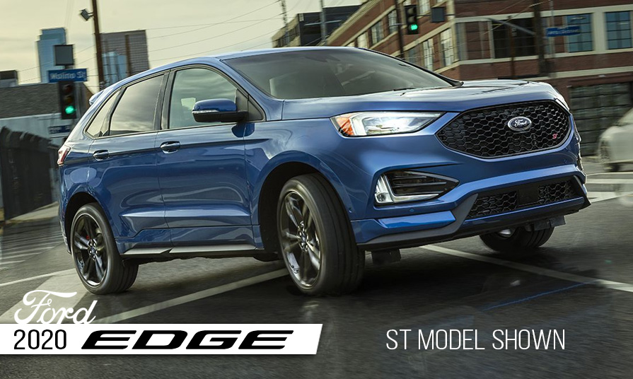 The 2020 Ford Edge Taking It To The Next Level Now At Solution Ford