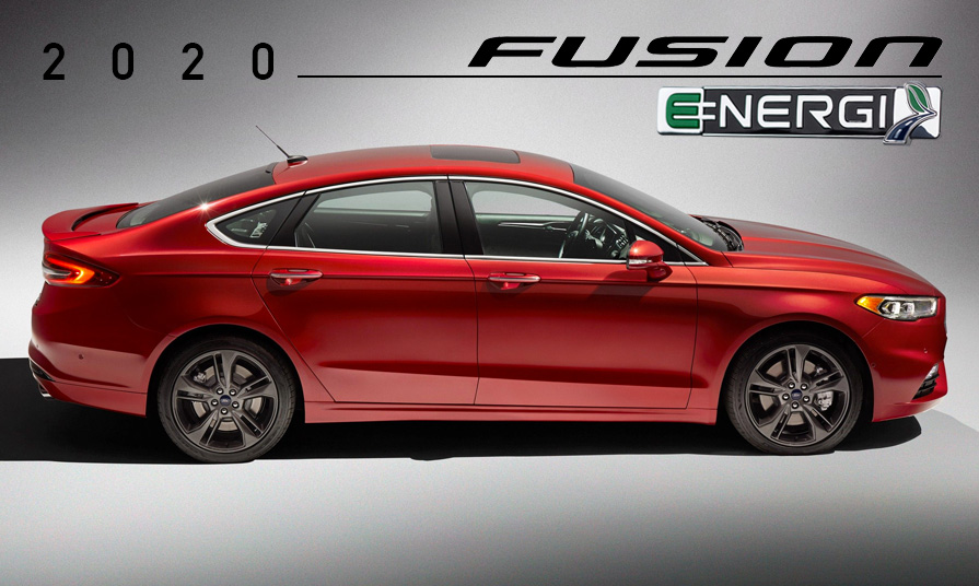 Ford Fusion Energi 2020