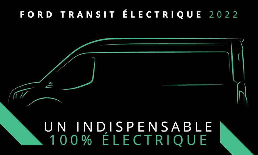 Ford Transit électrique 2022