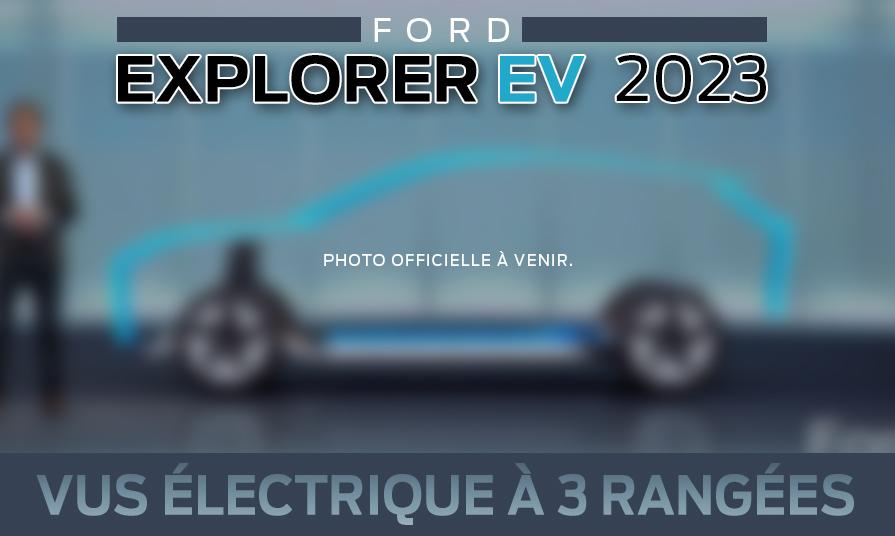Ford Explorer électrique 2023