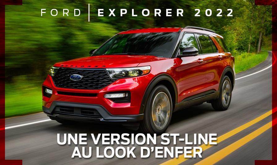 Ford Explorer 2022